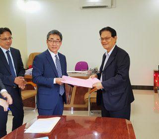 캄보디아 국도 개선사업 사업권 확보